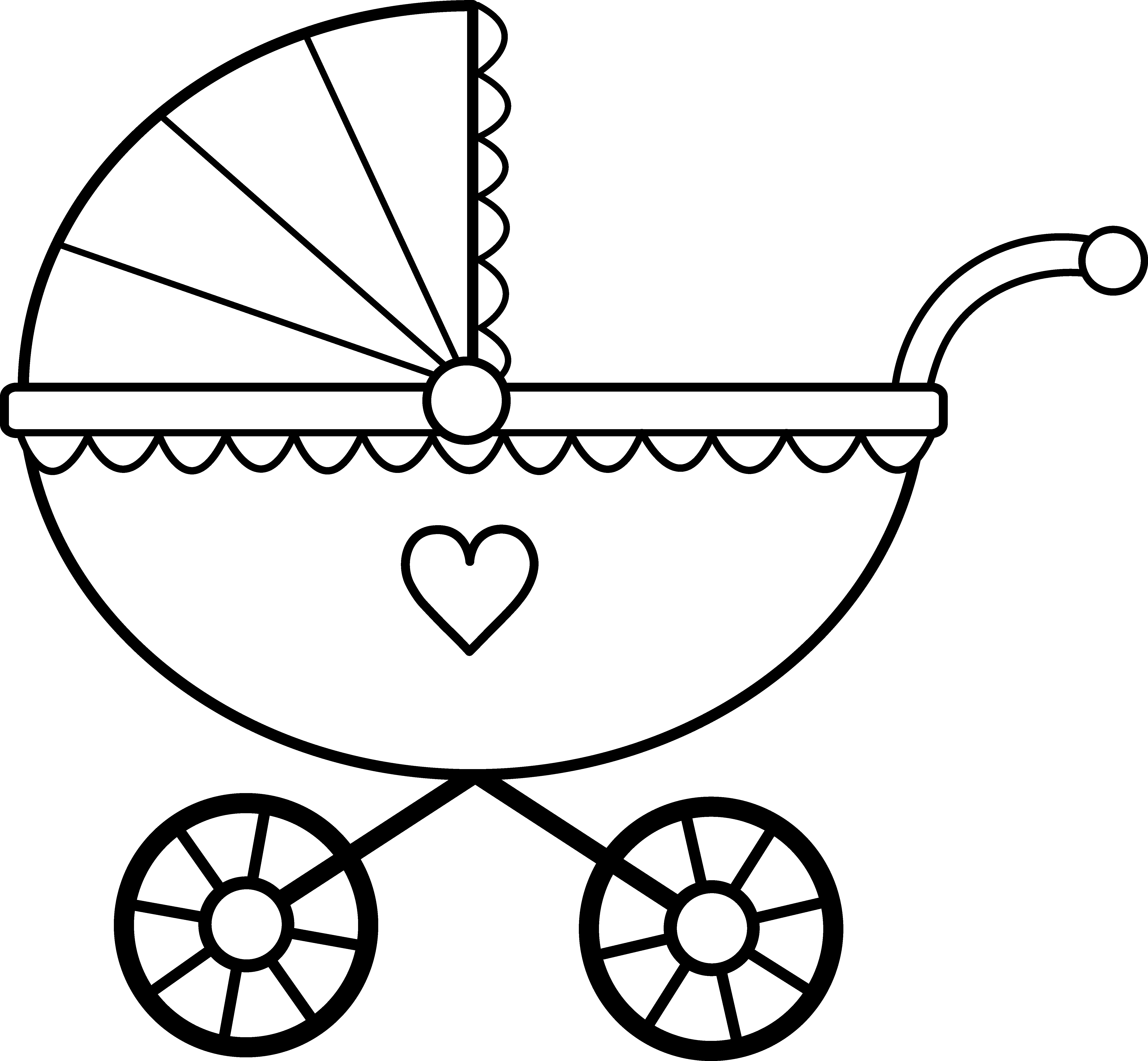 freeuse library Baby Line Drawing at GetDrawings