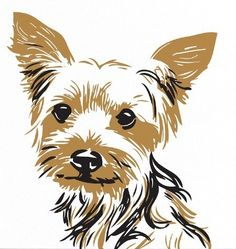 jpg free Free cliparts download clip. Yorkie clipart.