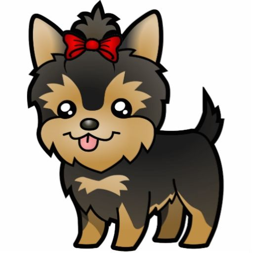 clipart freeuse Yorkie clipart. Free clip art and.