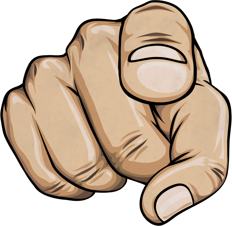 image black and white download At png transparent httpultimatebartenderchampionship. You clipart finger pointing