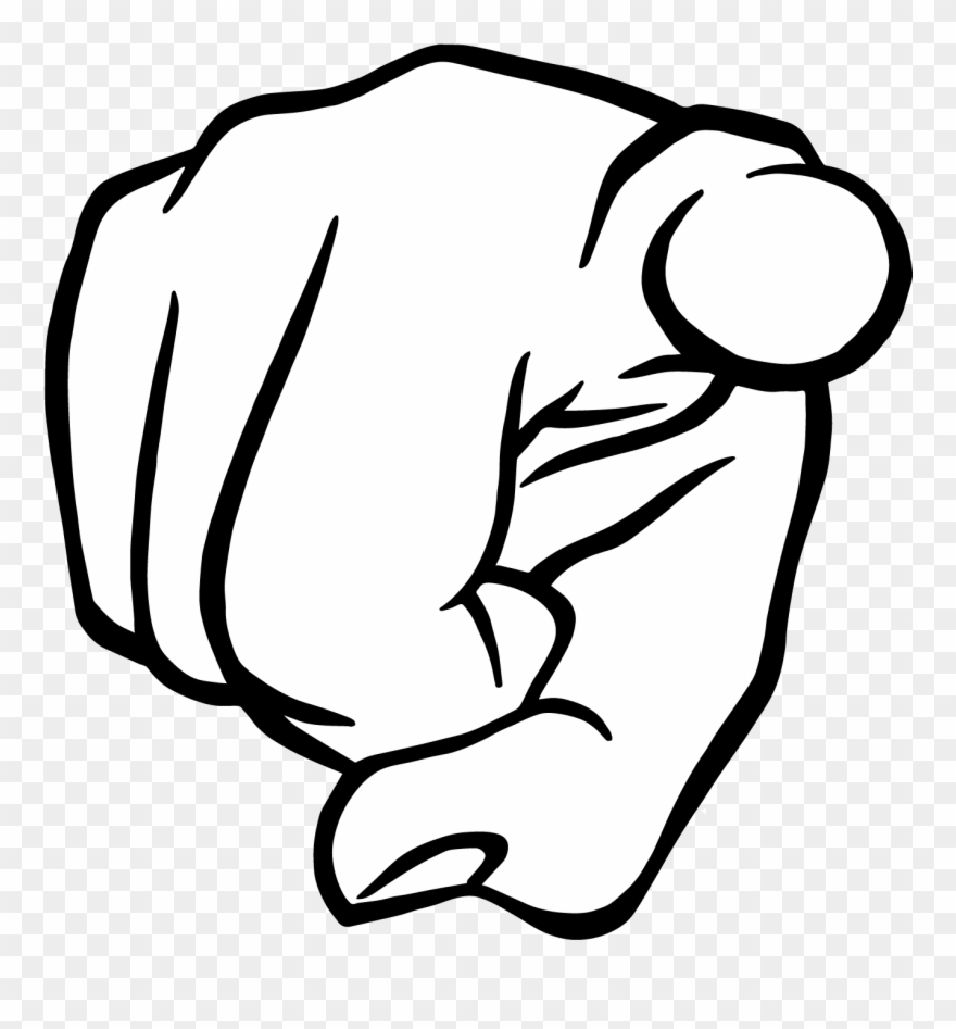 png library download You clipart finger pointing. Meme at .
