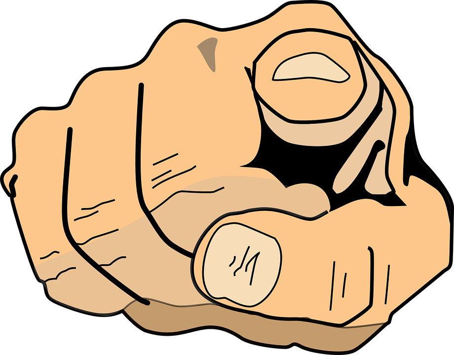 png royalty free library You clipart finger pointing. At png transparent index.