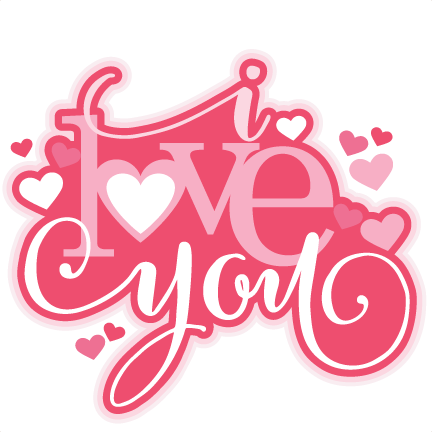 image transparent You clipart png. I love words download