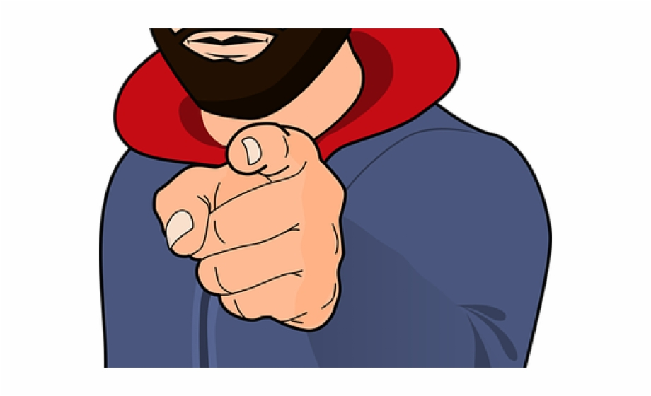clip art Finger point at to. You clipart pointing.