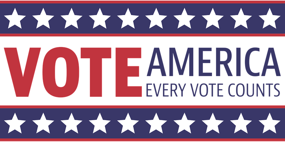 svg royalty free download Your vote counts clipart. Clay aiken every news.