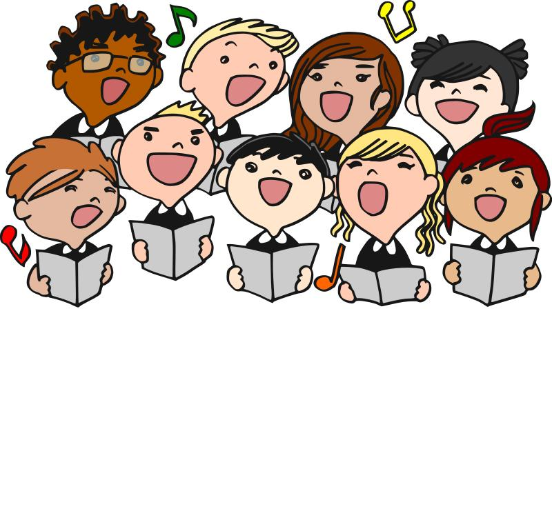 image freeuse Chorus transparent . Youth clipart speech choir