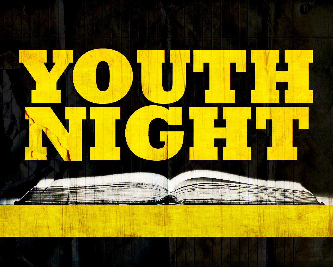 image Jr high montezuma church. Youth clipart youth night
