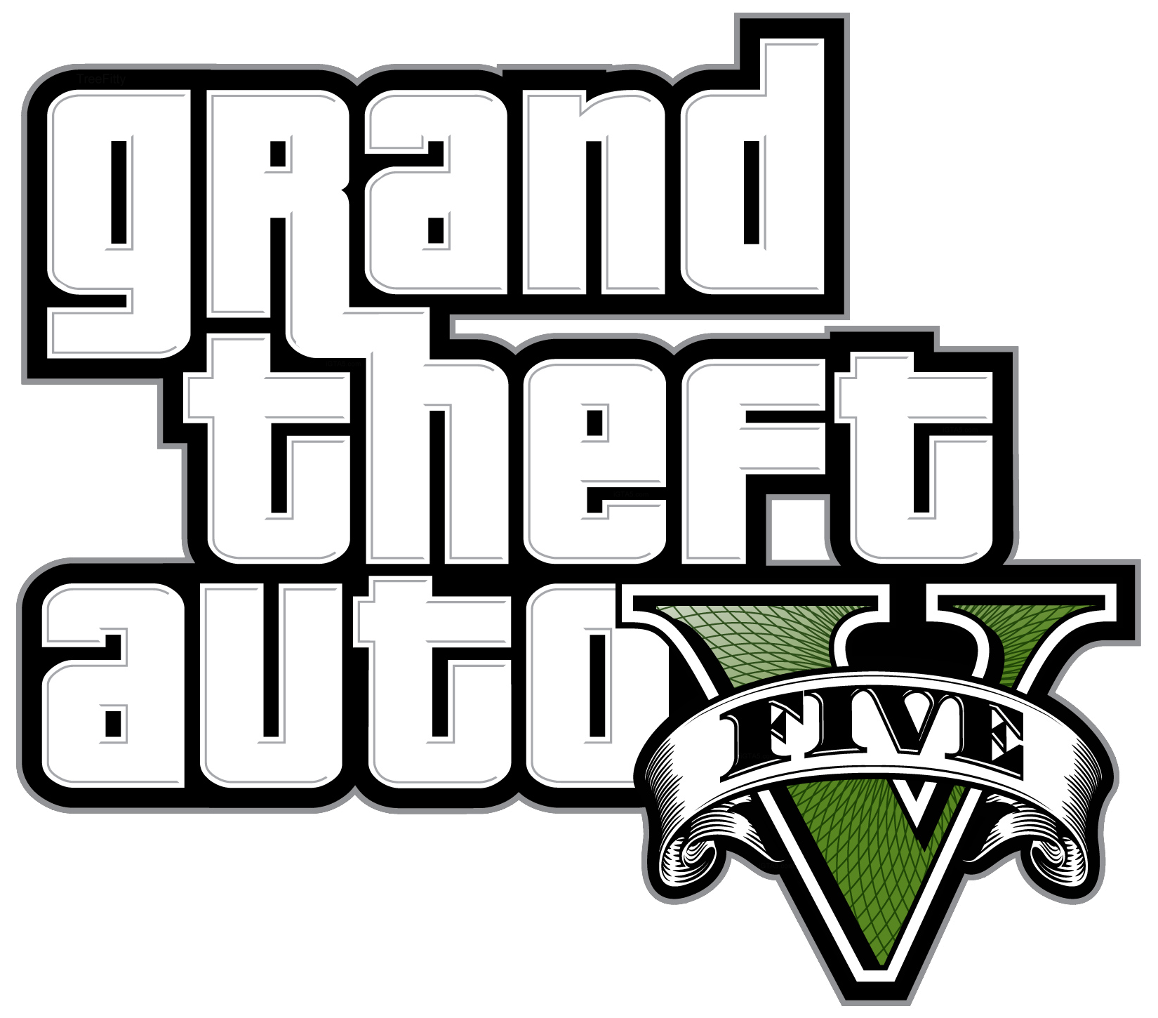 clipart black and white library Youtube clipart gta 5. Transparent free for .
