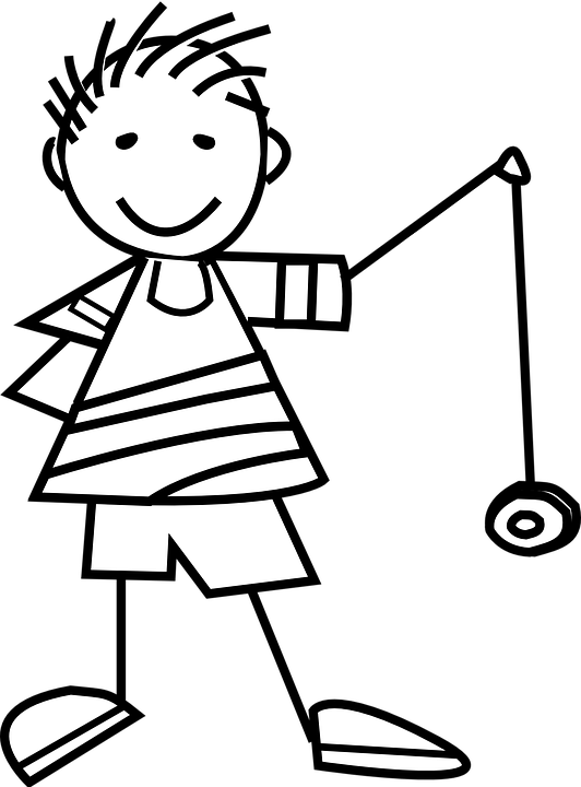 image royalty free library Yoyo clipart black and white.  collection of high