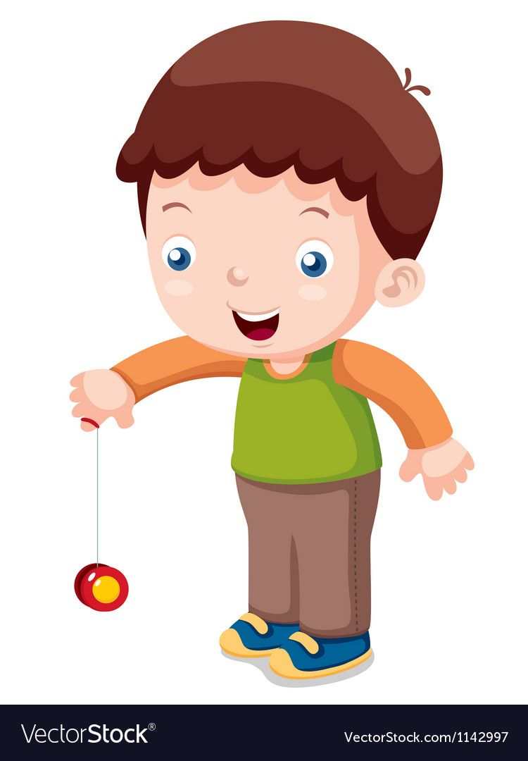 clip art royalty free library Boy playing yo royalty. Yoyo clipart cartoon