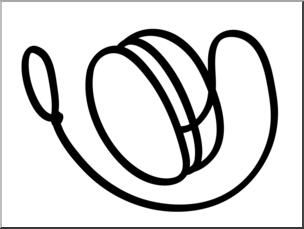 vector free library Basic words yo b. Yoyo clipart clip art