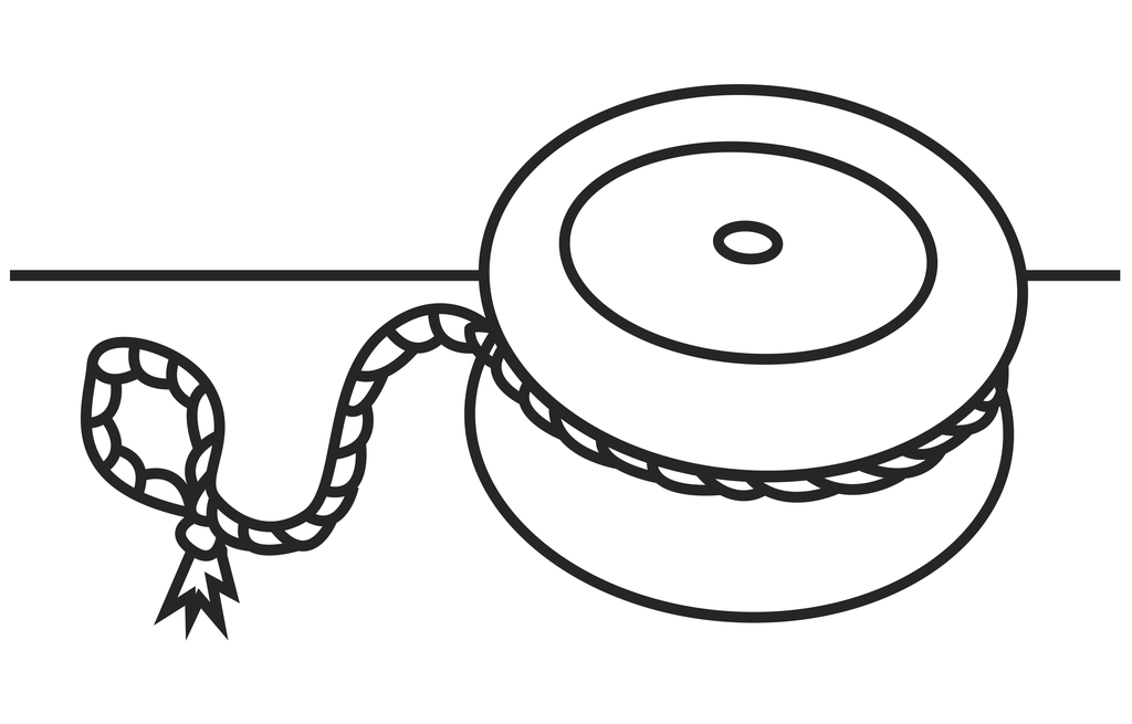 png freeuse library Yoyo clipart colouring. Y is for by