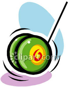download Spinning royalty free picture. Yoyo clipart green