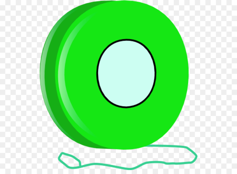 svg free library Circle yellow transparent . Yoyo clipart green