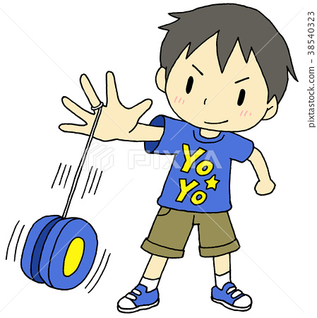 picture free Yoyo clipart kid. Boy stock illustration pixta