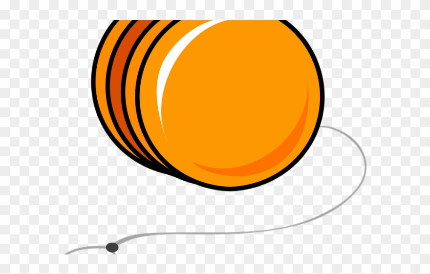 png free library Clip art png download. Yoyo clipart orange