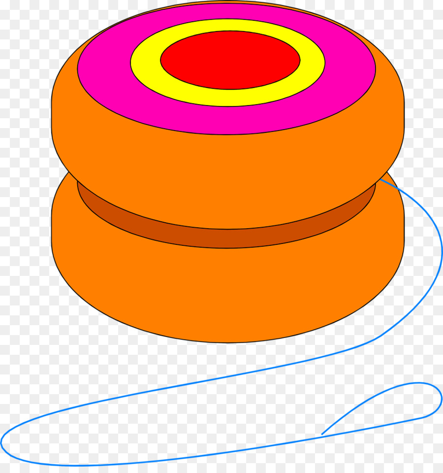 clip art freeuse download Yellow circle transparent . Yoyo clipart orange