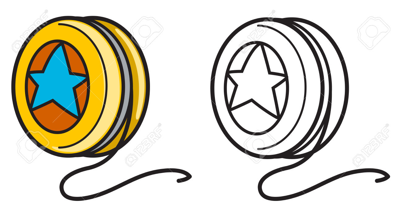 graphic library download Yoyo clipart outline. Free download best on