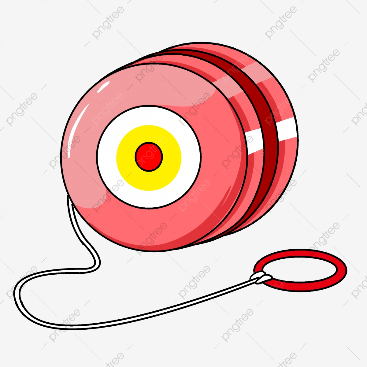 clipart library Yoyo clipart pink. Yo toy illustration toys