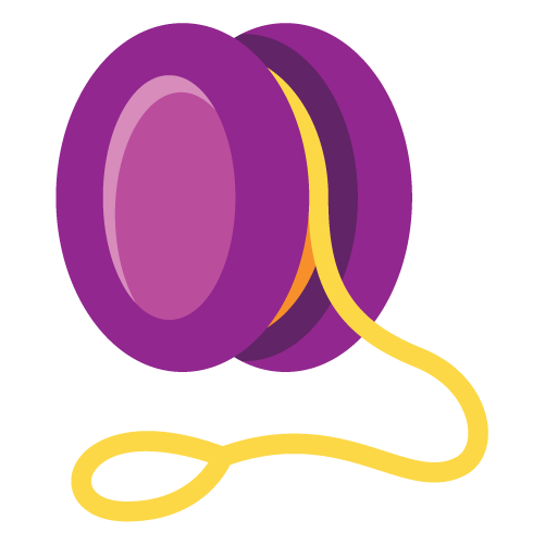 clip transparent Yo emoji proposal doc. Yoyo clipart purple