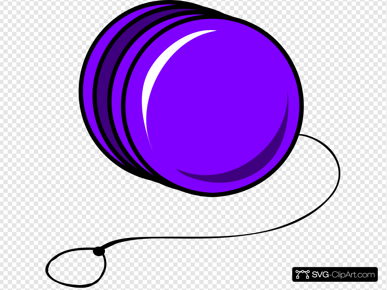 image freeuse stock Yoyo clipart purple. Cartoon clip art icon