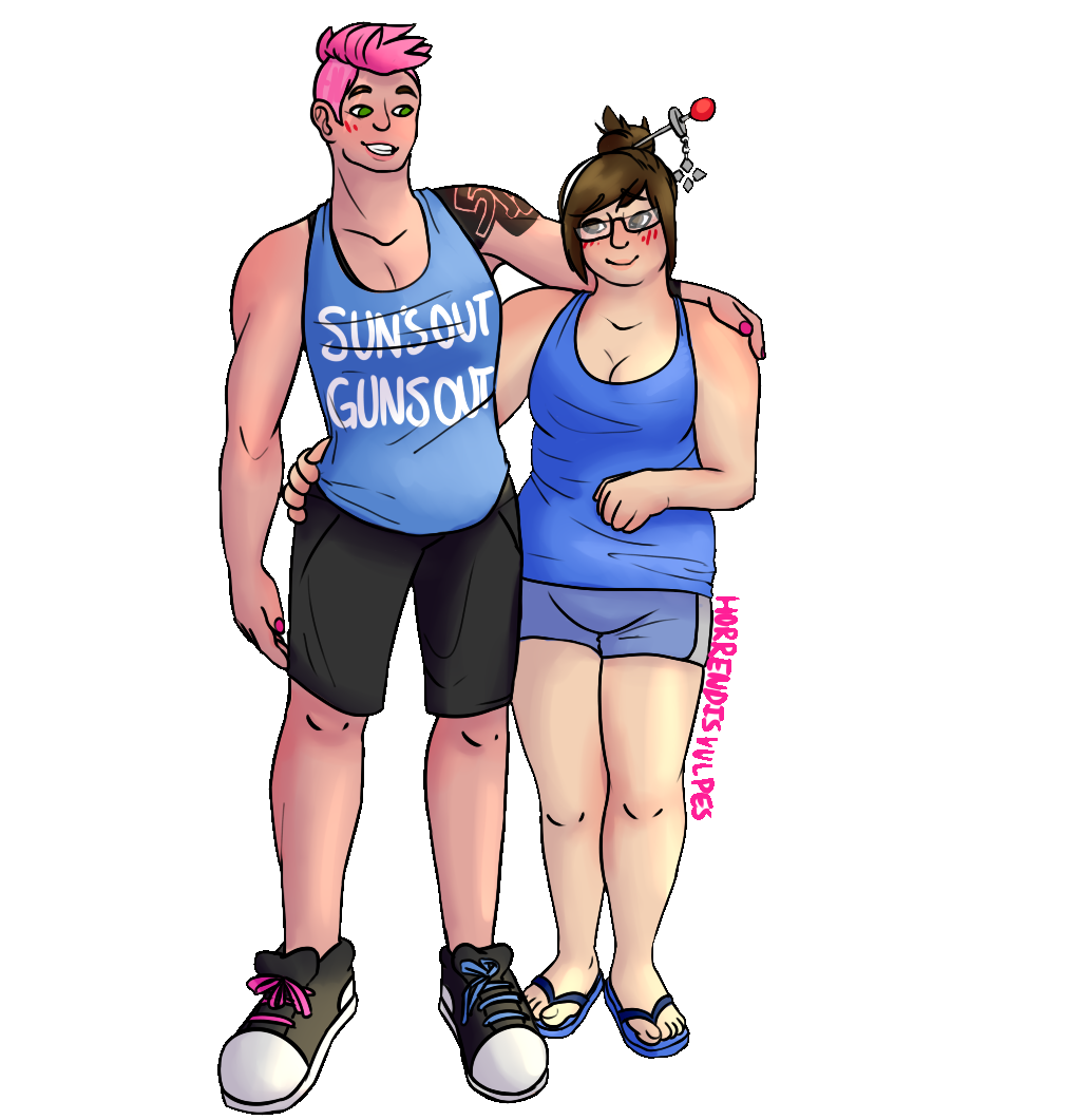 transparent zarya transparent mei #119028022