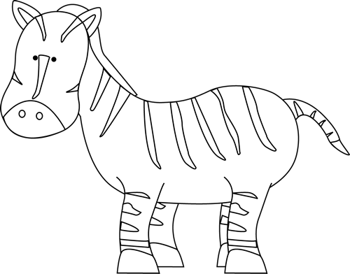 clip free download Zebra black and white clipart. The top best blogs.