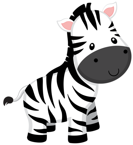 picture freeuse stock Zebra free on dumielauxepices. Baby jungle animal clipart
