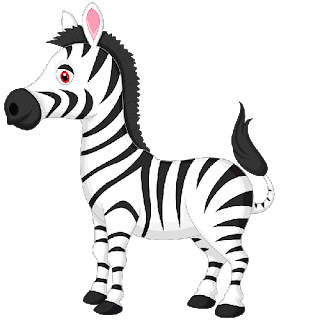 clipart transparent library  collection of cartoon. Zebra clipart