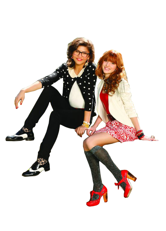 clipart library stock zendaya and bella frenemies movie by egoitzama on DeviantArt