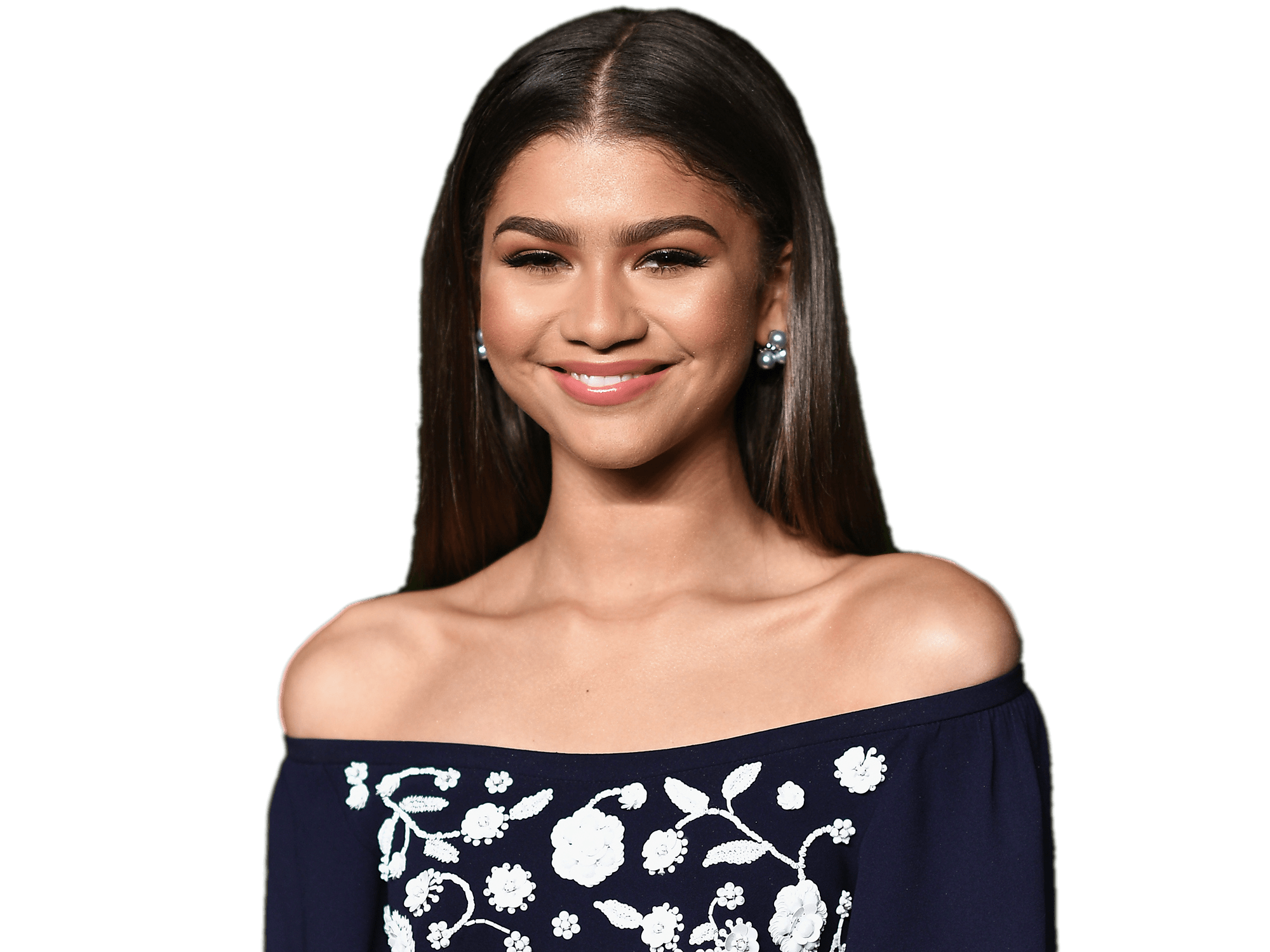clip freeuse stock Zendaya Shoulders transparent PNG