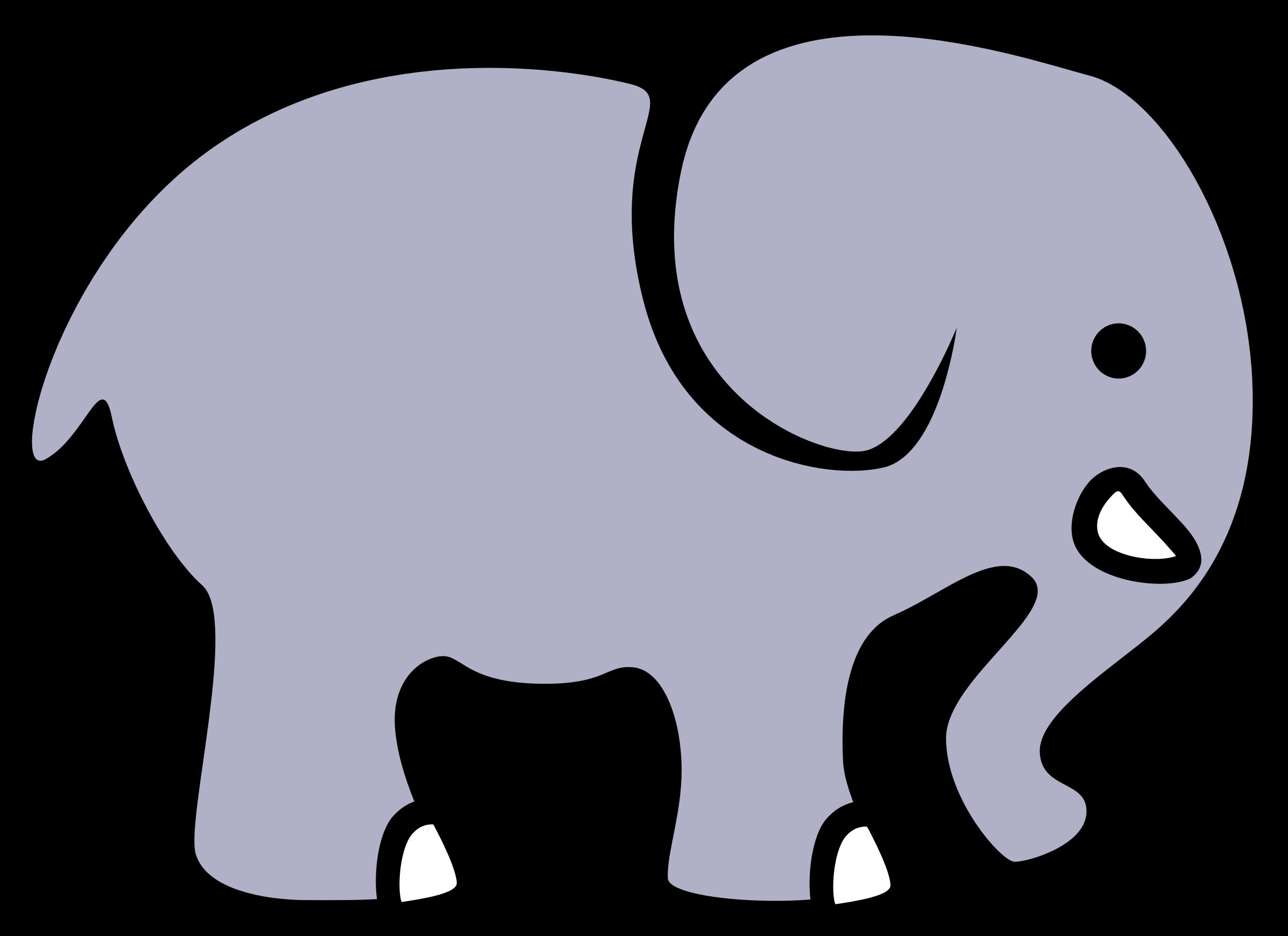 clipart transparent zentangle svg easy elephant #109364437