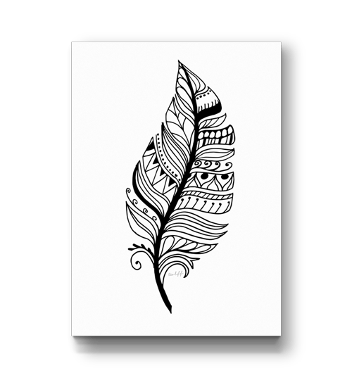 clip royalty free library zentangle svg feather #109352503