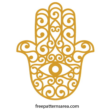 png library download Meaning of Hamsa Hand Symbol and Free Design