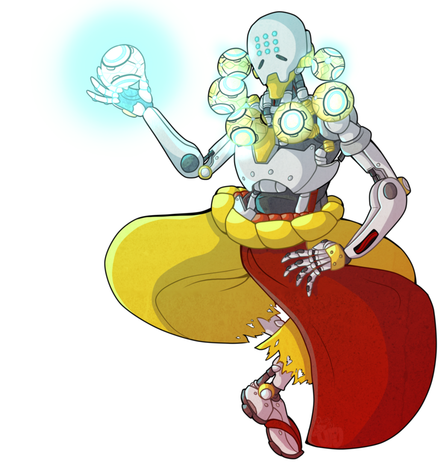 clip transparent download Zenyatta by DeathbyUFO on DeviantArt