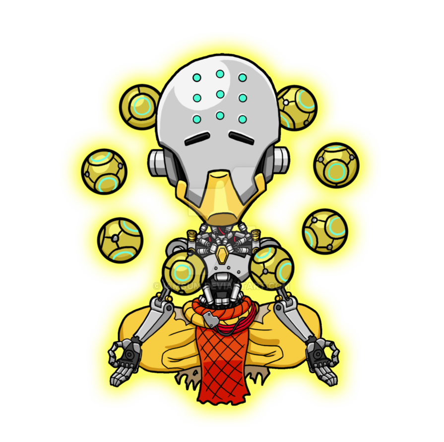 vector free stock Zenyatta by iAmSUM on DeviantArt