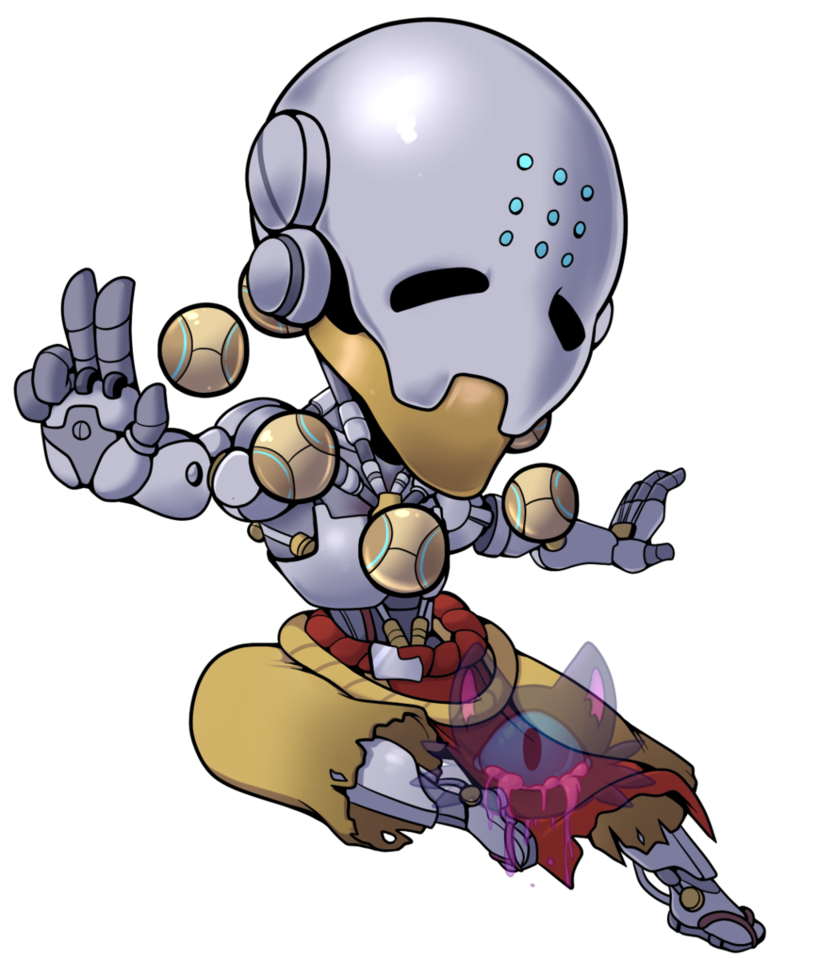 banner free download Zenyatta Keychain Design by CorpseEffect on DeviantArt