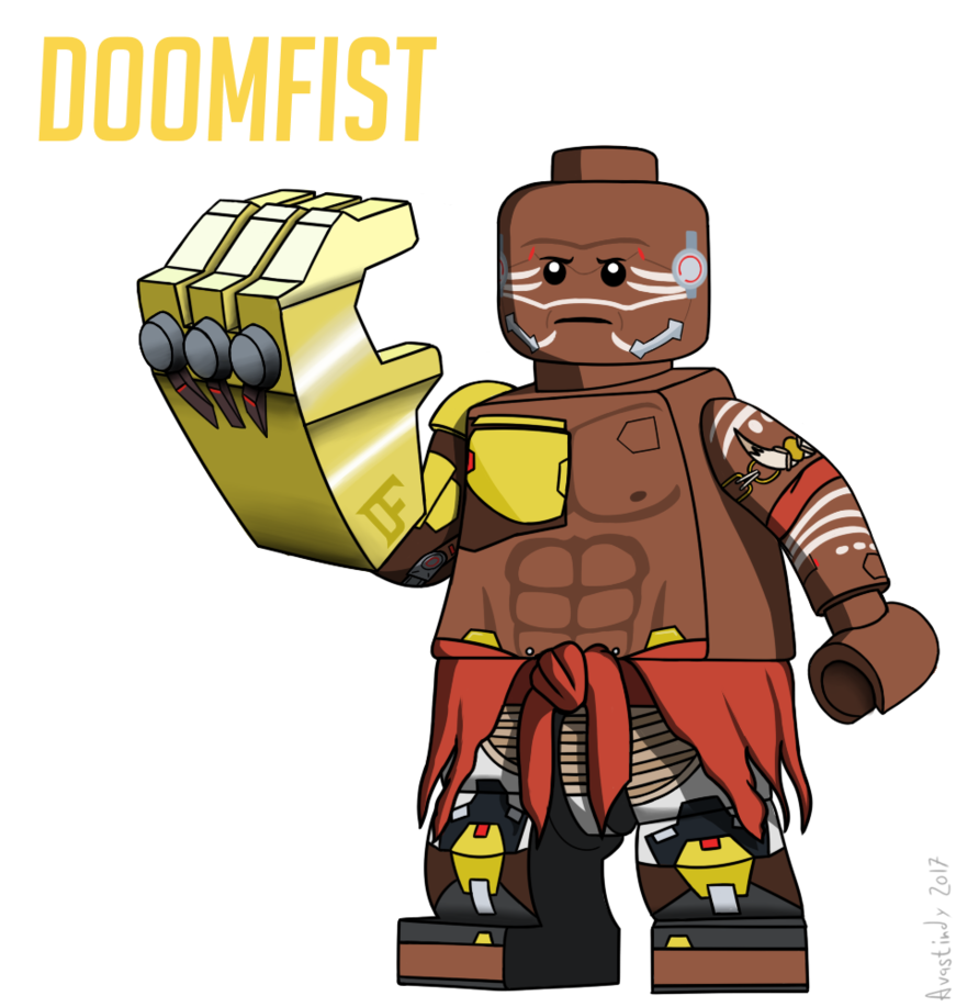 clip art free Lego Doomfist by Avastindy on DeviantArt
