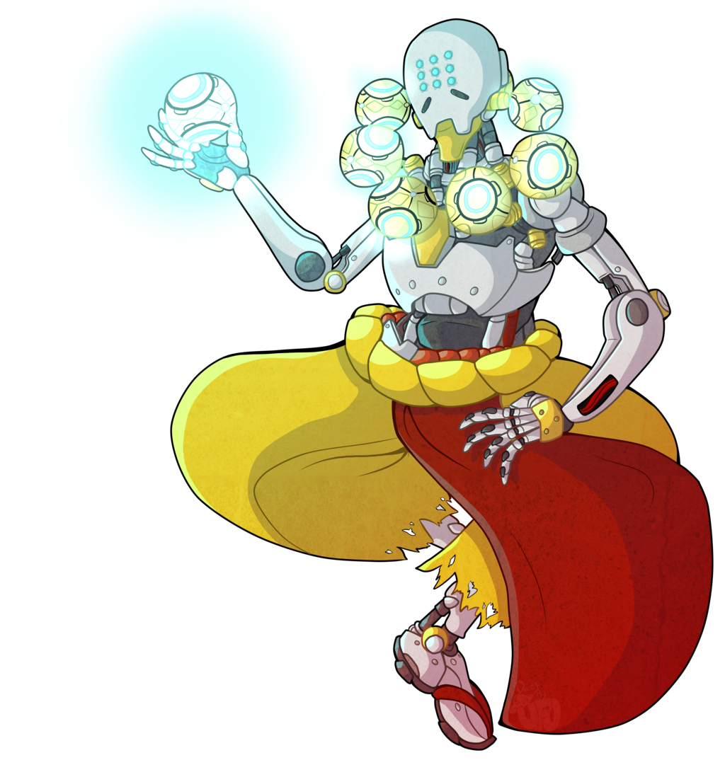 clip library stock Zenyatta by DeathbyUFO on DeviantArt