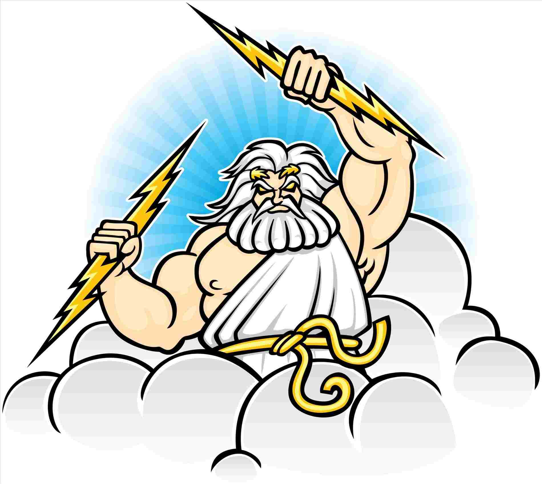 picture transparent download Zeus Cartoon Drawing
