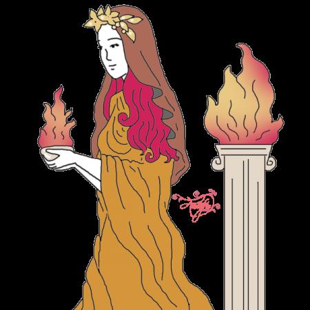 clip royalty free download Vesta Roman Goddess