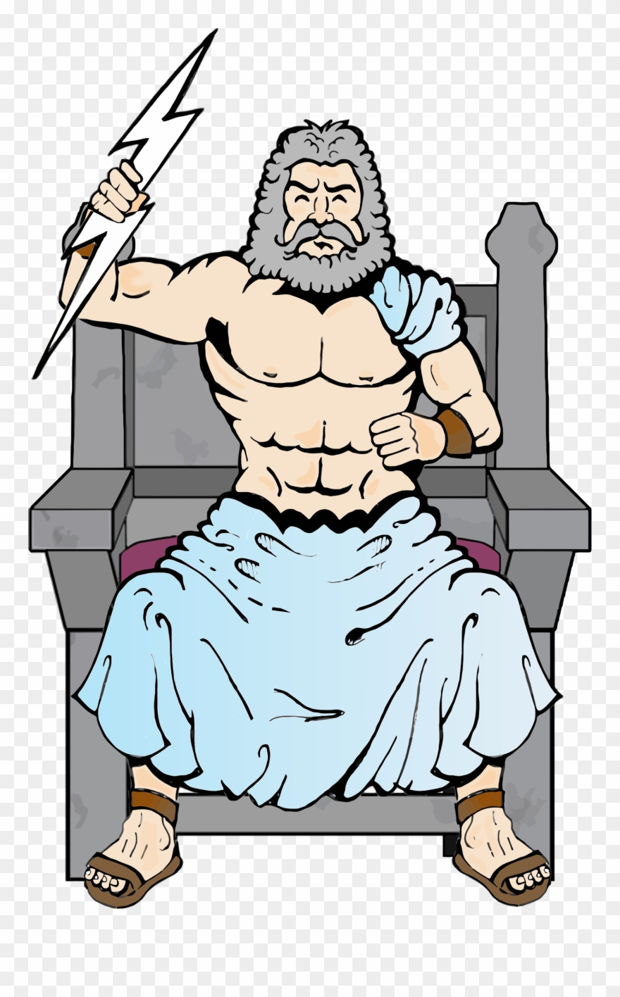 clip library stock Zeus clipart. Big image pinclipart .