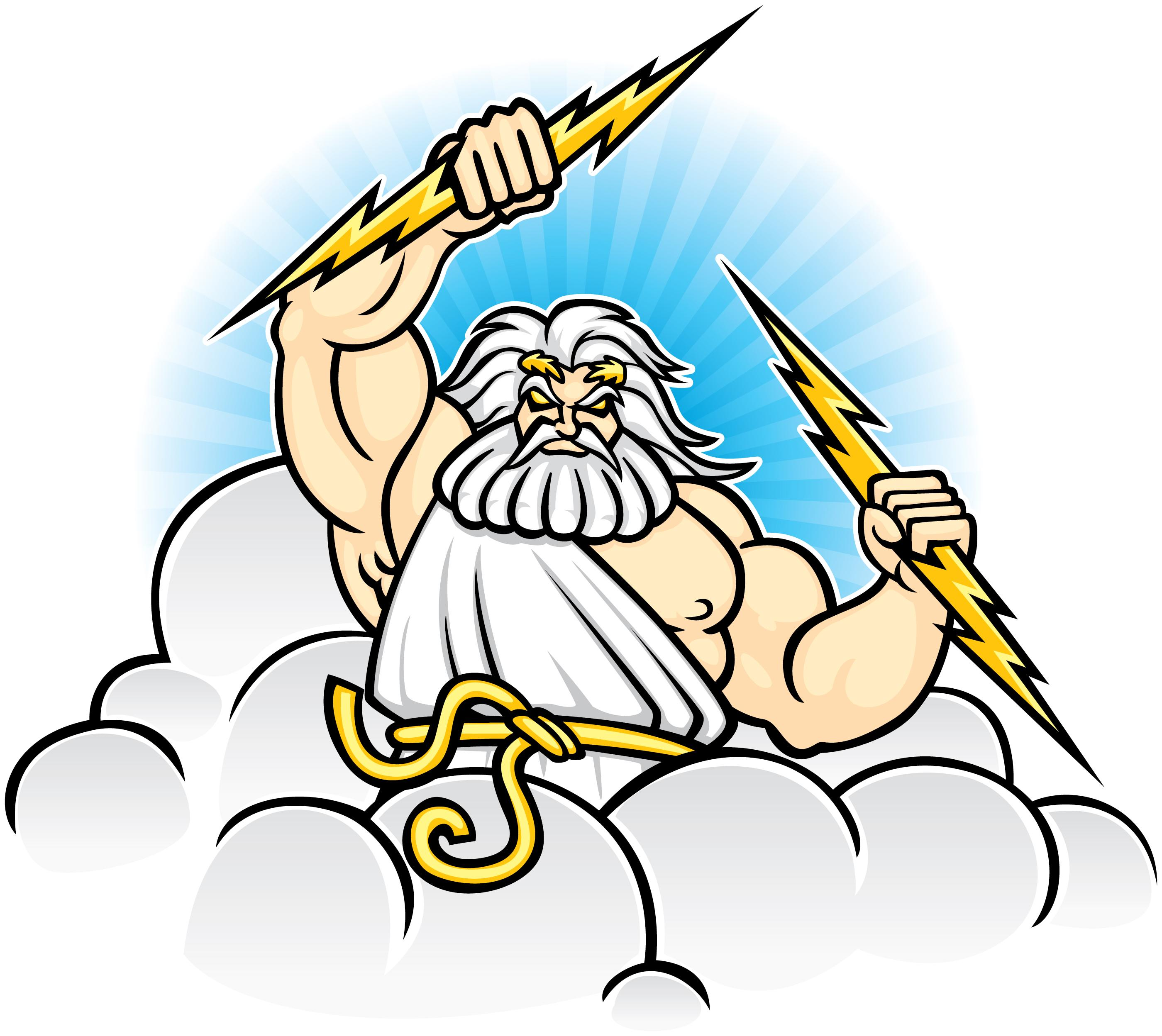 picture library download Free download best on. Zeus clipart.