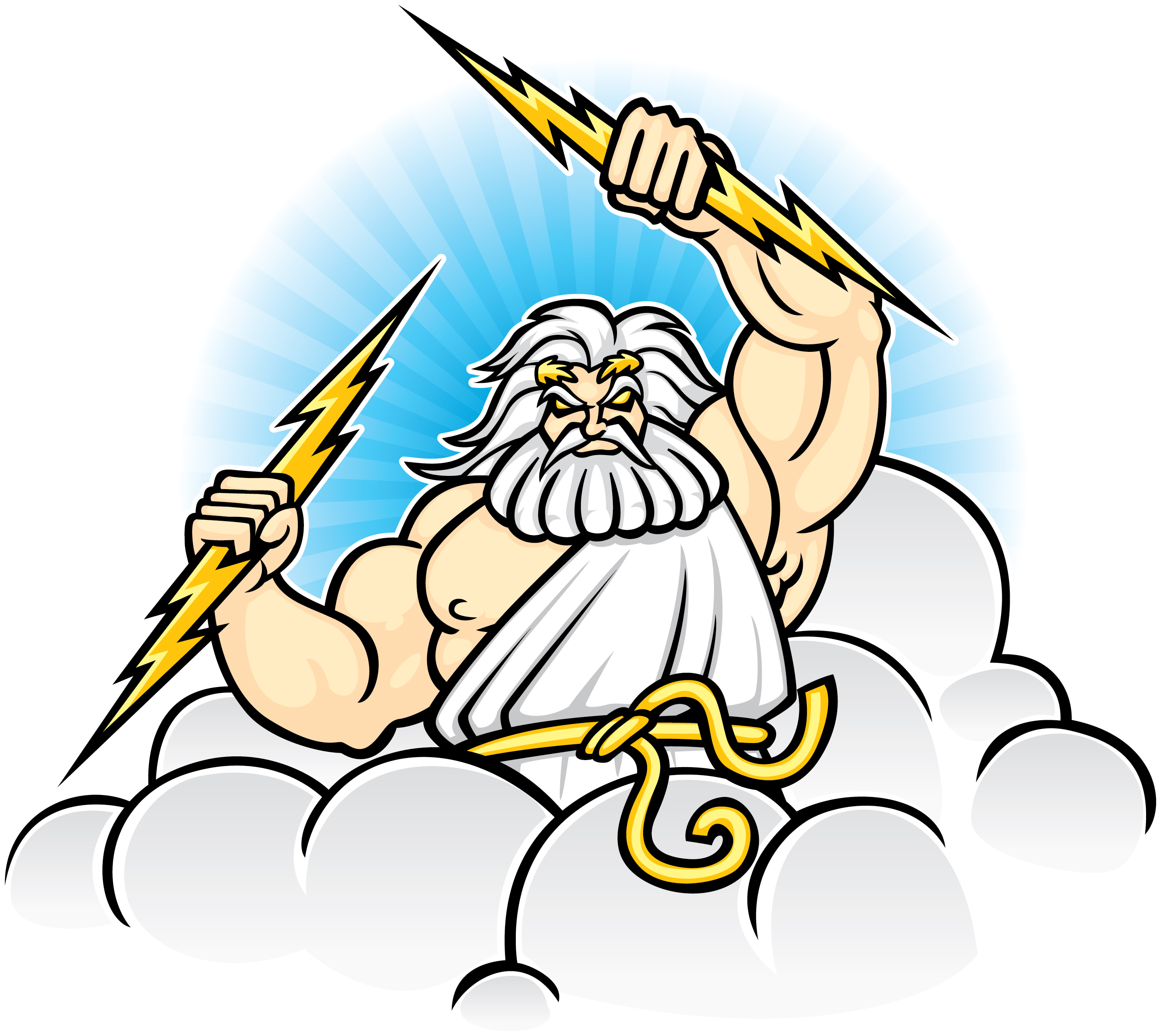 picture royalty free library Free cliparts download clip. Zeus clipart.