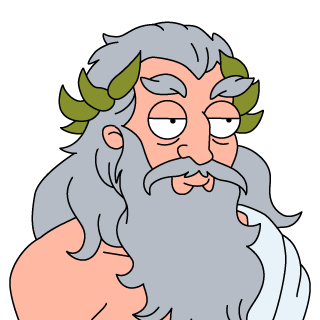 png freeuse download Zeus clipart cartoon. Transparent background free on.