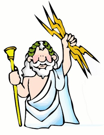 banner royalty free library Look at clip art. Zeus clipart cartoon.