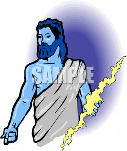 clip download Zeus clipart god thunder. Of royalty free picture