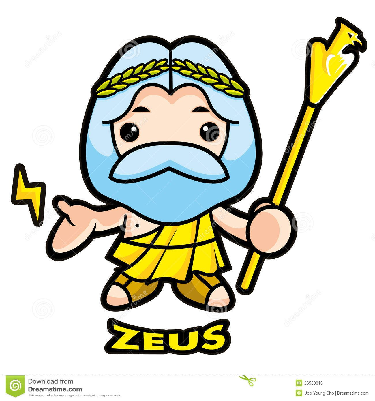 freeuse Stock photos images pictures. Zeus clipart god thunder.