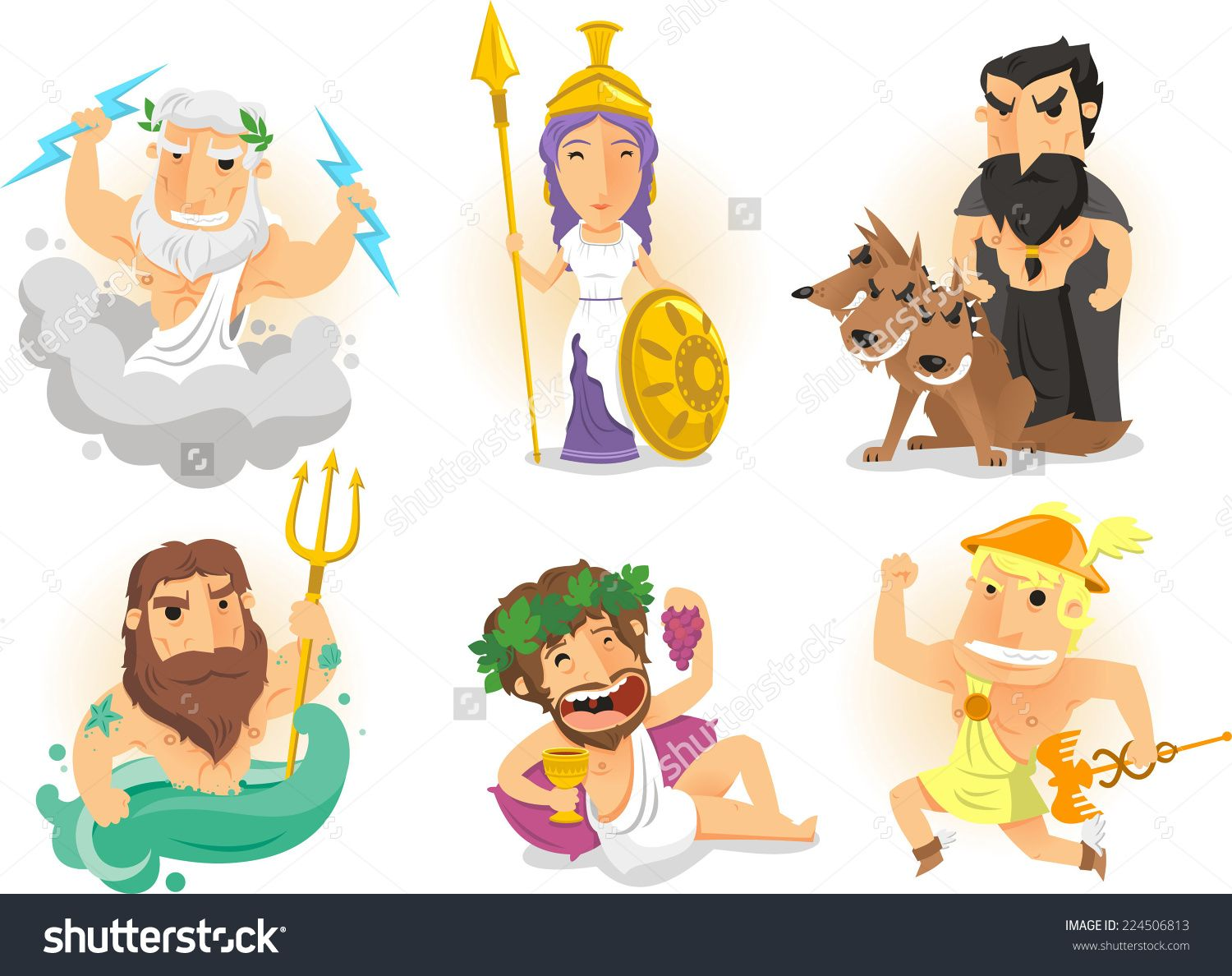 clipart black and white download Pin on bogowie gods. Zeus clipart hades
