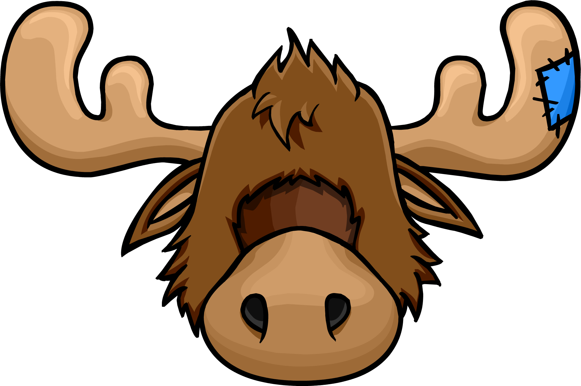 banner library download Zeus clipart mascot. The moose head club